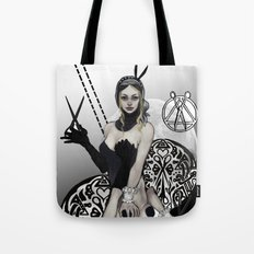 Queen of Scissors Tote Bag