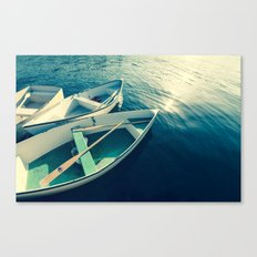 On the Water - Boats Canvas Print