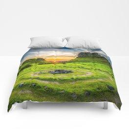 Fairytale Landscape, Isle of Skye, Scotland Comforters