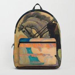 George Washington by Newell Convers Wyeth Backpack