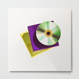 Lo-Fi goes 3D - The Compact Disc Metal Print