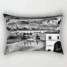 Ponte Vecchio, Florence, Italy Rectangular Pillow