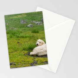 Woof woof Stationery Cards