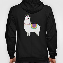 Unicorn Llama Hoody