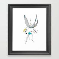 Fushieared Framed Art Print