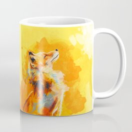 Blissful Light - Fox portrait Coffee Mug