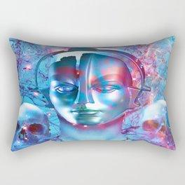 Robot Transcendence Rectangular Pillow