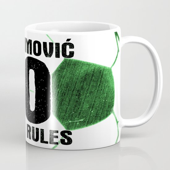 Ibrahimovic 10 Rules Mug