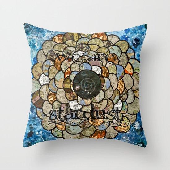 Stardust II Throw Pillow