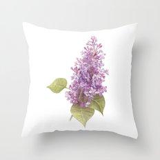 Lilac Throw Pillow