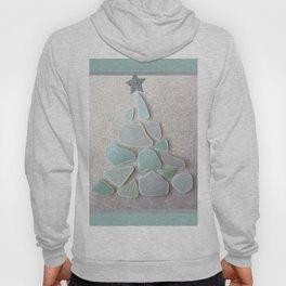 Sea Foam Sea Glass Christmas Tree #Christmas #seaglass Hoody