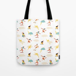 You go, girl pattern! Tote Bag