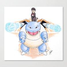 Pump Up The Battle! Canvas Print