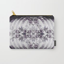 Floral Abstract Ribcage Carry-All Pouch