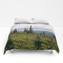 happy little trees Comforters