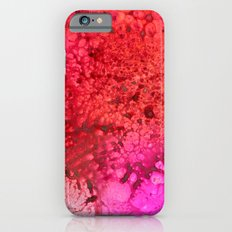 Red to pink spattered iPhone 6s Slim Case