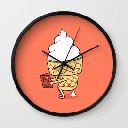 Everyone Poops by ilovedoodle Wall Clock