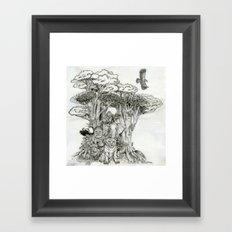 Jungle Friends Framed Art Print