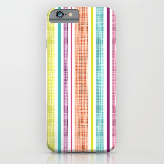 Textured Stripes iPhone & iPod Case
