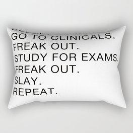 Clinical, Nursing Student, Med Student Rectangular Pillow