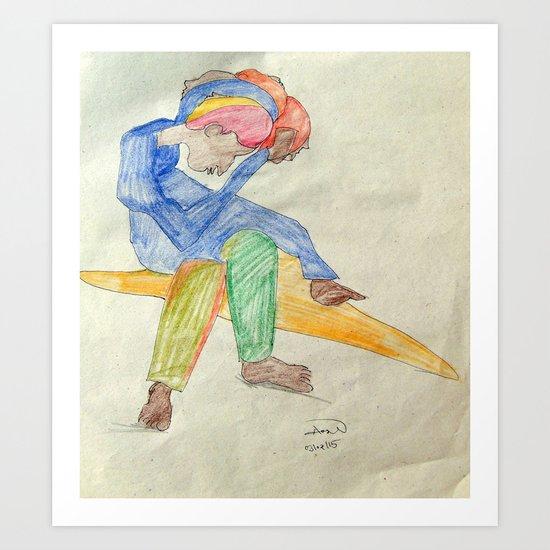 Illustration 2 Art Print