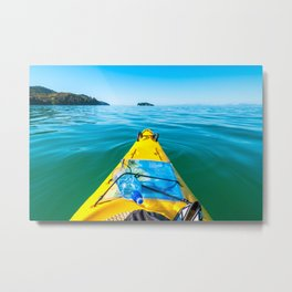 Abel Tasman Kayaking, New Zealand Metal Print