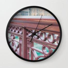 Chicago River Views Wall Clock