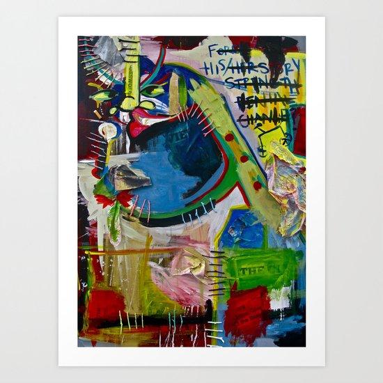 Basqui NOT #2 Art Print