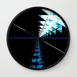 Rupture Point Wall Clock