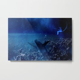 whale hunter Metal Print