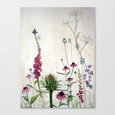 Summer Bed & Blues Canvas Print