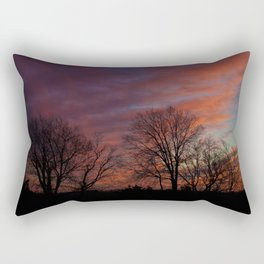 Eastern Lights Rectangular Pillow