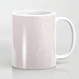 Textured Misty Rose Coffee Mug