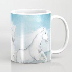 White Horses of the Camargue Mug