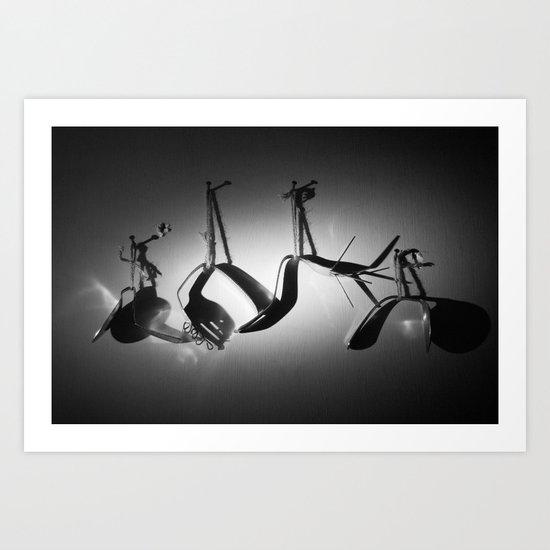Silverware Art Print
