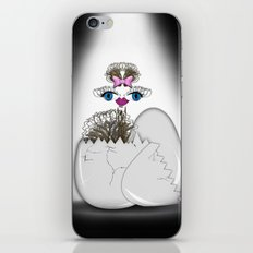newborn ostrich iPhone & iPod Skin