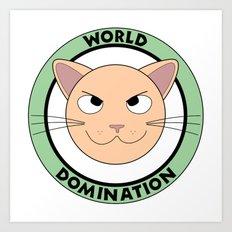 World Domination III Art Print