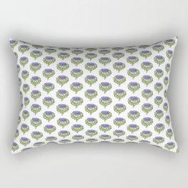 Artichoke Watercolor Rectangular Pillow