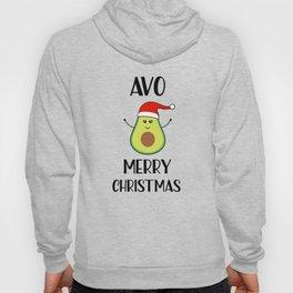 Avo Merry Christmas, Funny, Quote Hoody