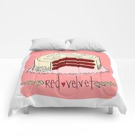 Red Velvet Comforters