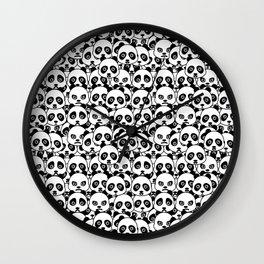 Panda Pattern Wall Clock