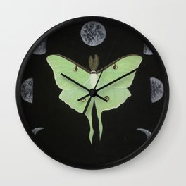 Cycles of Luna Wall Clock