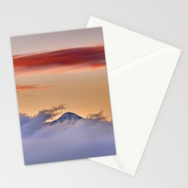 Sunrise At The Mountains. Boca De La Pesca. 1518 Meters Stationery Cards