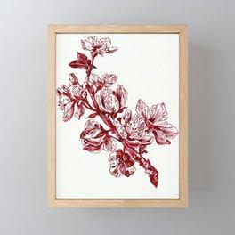 Spring Blossoms Framed Mini Art Print