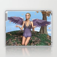Autumn Angel Laptop & iPad Skin