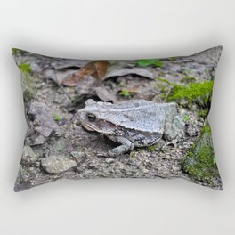 Croak Rectangular Pillow