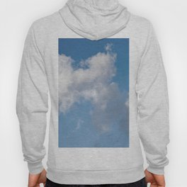 Floating cotton candy with blue Hoody