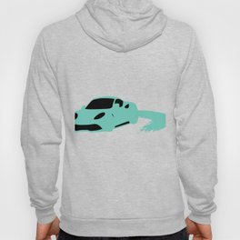 "Lavishing ""Silhouette Blue Car"" perfect for awesome, intense and brilliant person like you! Hoody"