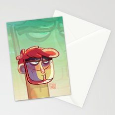 Bad guy Stationery Cards