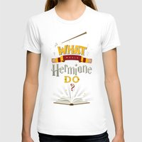 T-shirts featuring What Would Hermione Do? by Frying Sausage